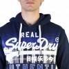 Sweat SuperDry Bleu Marin Authentic