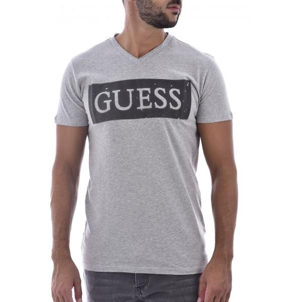 T-shirt Guess Gris