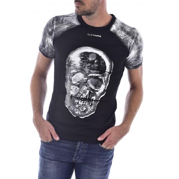 T-shirt Goldenim Paris Tête de Mort