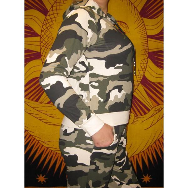 Ensemble Sweat & Pantalon militaires